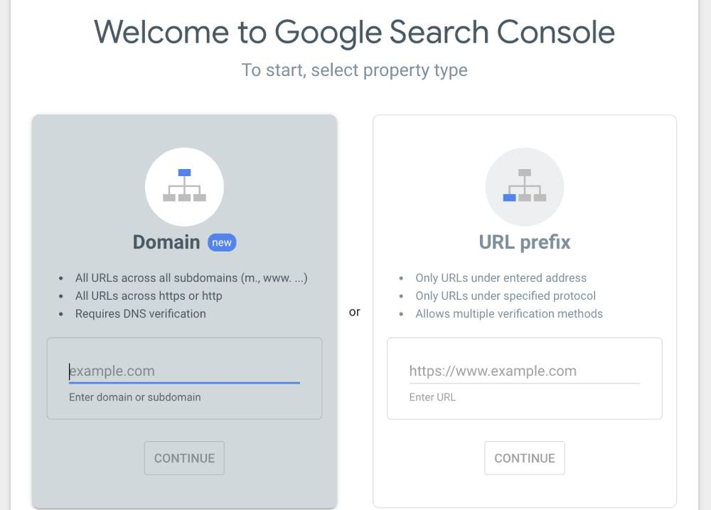Setting Up Google Search Console